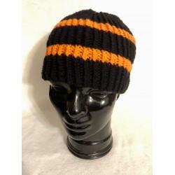Mütze - orange/schwarz -...