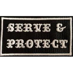 patches - Aufnaeher - serve...