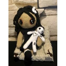 Zombie - Puppe mit kleiner...