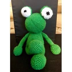 Frosch - gehäkelt -...